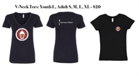 T Shirt V Neck Small Logo